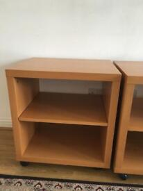 Three bedside tables only sold £5!