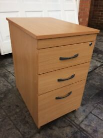 Office drawers - 3 drawers used