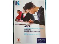 ACCA P6 Advance Taxation Exam Kit (FA16) and Pocket Notes (FA16) for exams in Jun 2017 - March 2018