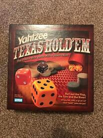 Texas holdem yahtzee, ideal Father's Day gift, Brand new
