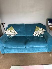 2 seater couch and 1 seater