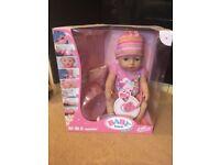 Baby Born Interactive Doll & Baby Born Interactive Bath. NEW UNUSED UNOPENED