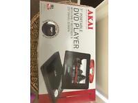 Akai 7inch portable DVD player- BRAND NEW