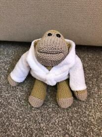 PG Tips Monkey Teddy In Robe Good For The Collection Only Been On Display.