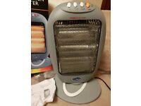 QUEST Electrical Halogen Heater 1200W Oscillates 3 Heat Settings £10!!! SAFTEY TILT CUT OUT
