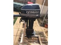 Evinrude outboard 6hp spares or repairs!!! £150 best offer takes it. Boat engine