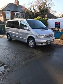 Wheelchair accessible vehicle Mercedes v220