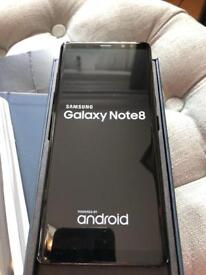 Samsung Galaxy Note 8 dual sim Unlocked mid night black 64GB