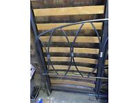 Wrought iron quality double bed