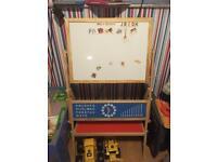 Chalk/magnetic easel