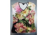 Original Ted Baker flower printed top