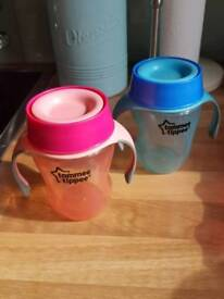 Weaning drinking set up