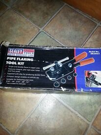 SEALEY PIPE FLARING TOOLKIT....BRAND NEW IN BOX