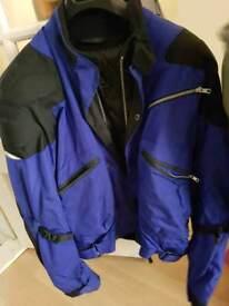 Clover motorbike jacket size xl