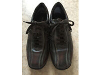 Mens brown shoes / trainers, size 9