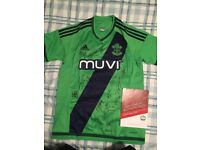 935ea9da5a1 Signed Southampton shirt with authenticity certificate