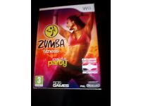 zumba party for Wii - never used
