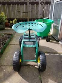 Garden Truck Seat