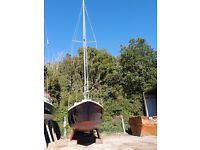 Westerly Centaur 1973 replacement Beta b14 engine fitted 2015