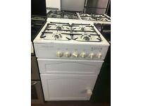 55CM WHITE LESIURE GAS COOKER
