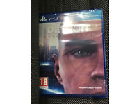 PS4 Detroit Become Human Brand New Sealed