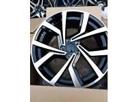 "VW Audi Golf ClubSport Style Wheels 18"" WILL FIT MOST AUDI VW SKODA SEAT MERCEDES"