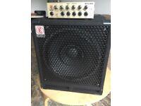 Eden WTX264 bass amp + Eden EX112 bass cab