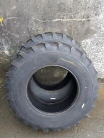 **NEW**Set of 2 new Ohero 10.5/80/18 implement tyres (Open to offers)
