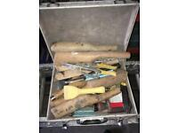 For sale lead working tools and lead dressing tools