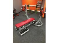 TECHNOGYM PURE STRENGTH OLYMPIC FLAT BENCH FORSALE!!