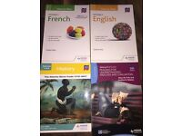 National 5 SQA Grade Booster Books for English, History and French