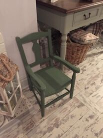 Childrens old chair