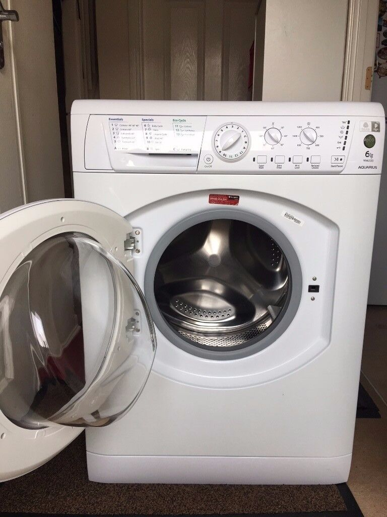 HOTPOINT AQUARIUS A Class, Washing Machine, 6kg, 1200 rpm!! Like a NEW! FREE delivery in Bristol!