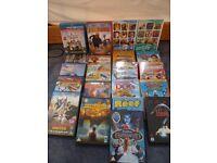 Twenty children's DVDS