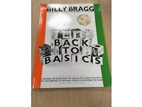 FOR SALE rare 1985 billy Bragg back to basics chord book with flexi music LP
