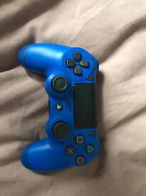 Blue PS4 2017 controller