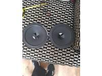 Hertz DV 165.3 6 inch 120watt 4ohm speakers