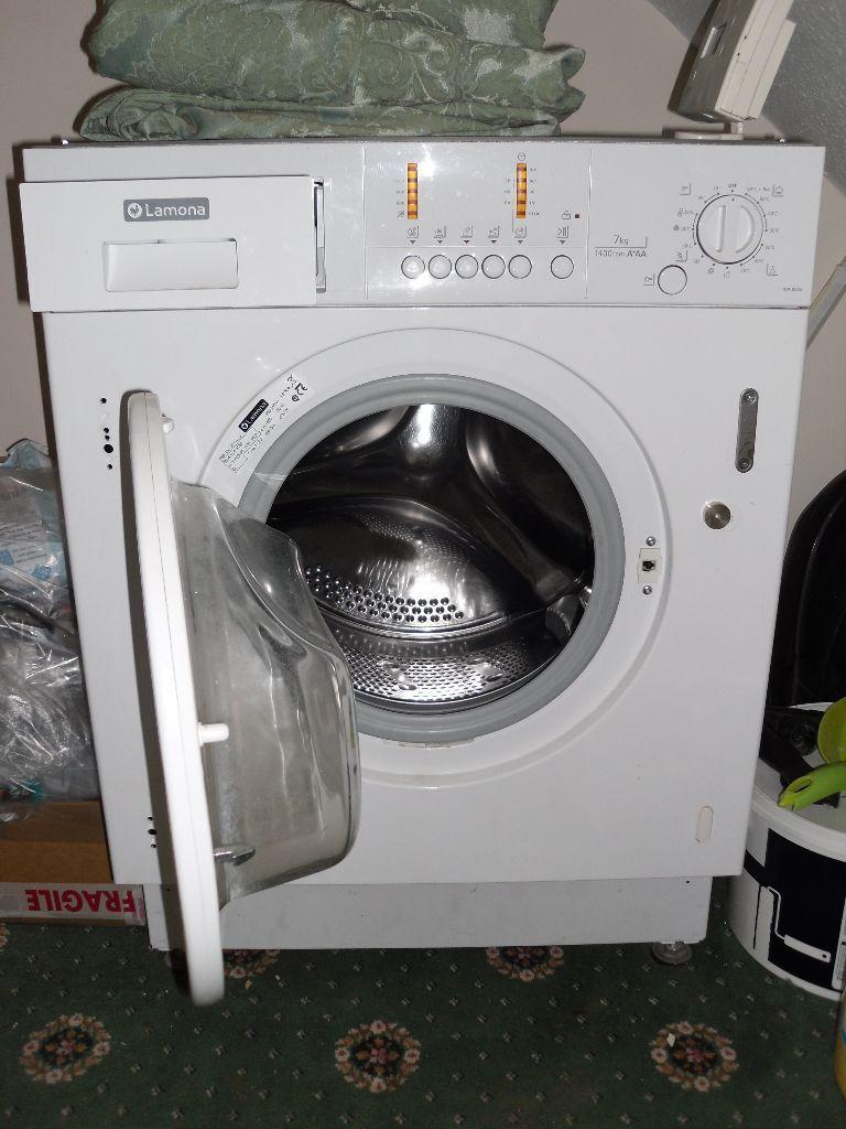 lamona hja 8553 integrated built in washing machine in. Black Bedroom Furniture Sets. Home Design Ideas