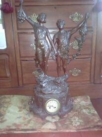 Spelter french clock