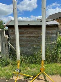 110v site lights work lamps