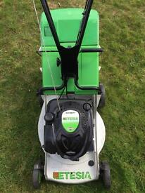 Etesia PBTS self propelled commercial lawnmower serviced professional mower 4 gardeners serviced