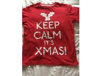 Keep calm it's Christmas Top Age 10-11 years