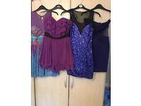 Four Lipsy dresses size 10