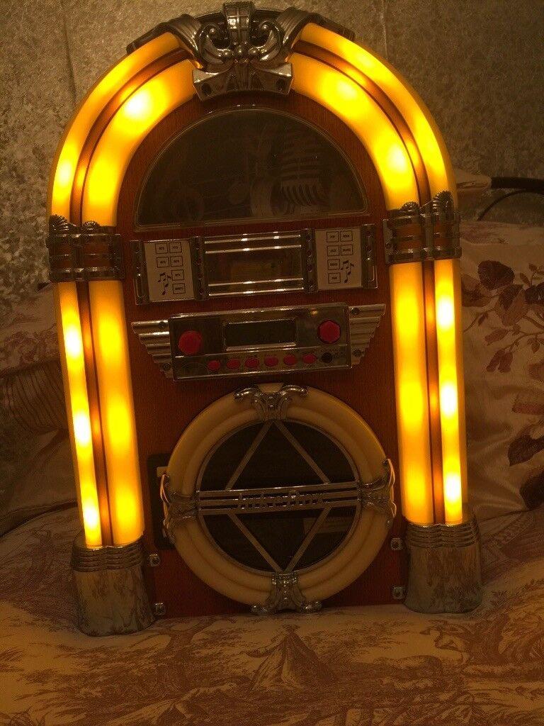 Retro mini jukebox | in Llanrumney, Cardiff | Gumtree