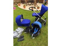 Mamas and Papas Sola Complete travel system with maxicosi car seat