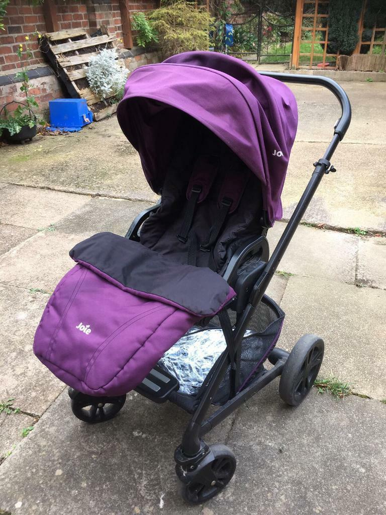 Joie chrome plus travel system NOT including car seat
