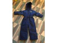 Matalan age 2-3 all in one rain/snow suit **new**