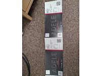 2x Adele 'The Finale' Thursday 29th June (Sitting together - £200 for the pair)