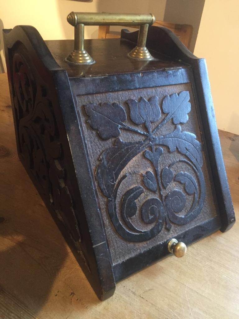 Arts and crafts Scottish coal box