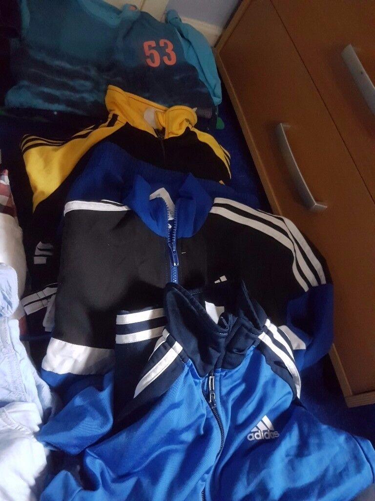 Selection of boys clothes aged 10- 12